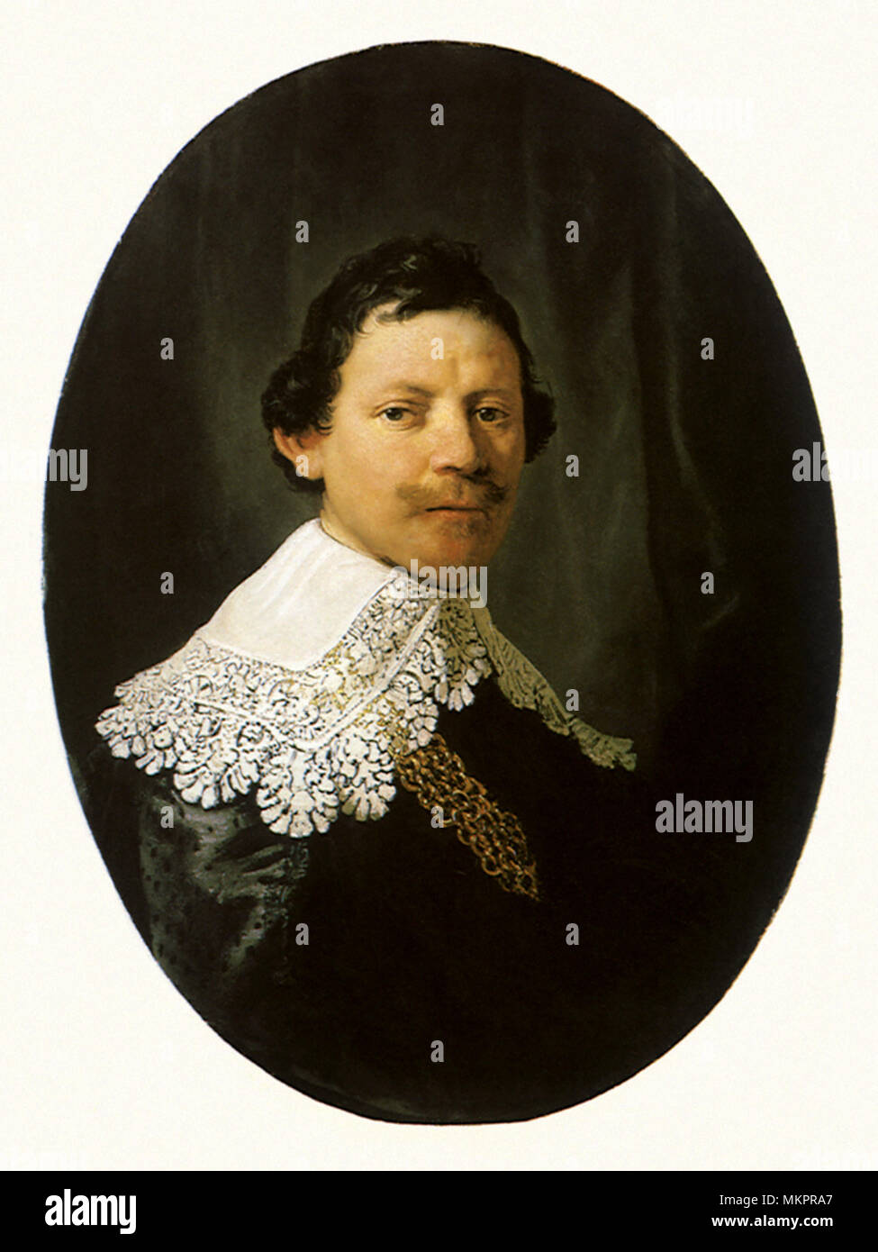 Philips Lucasz, Councillor of the Dutch East India Company - Stock Image