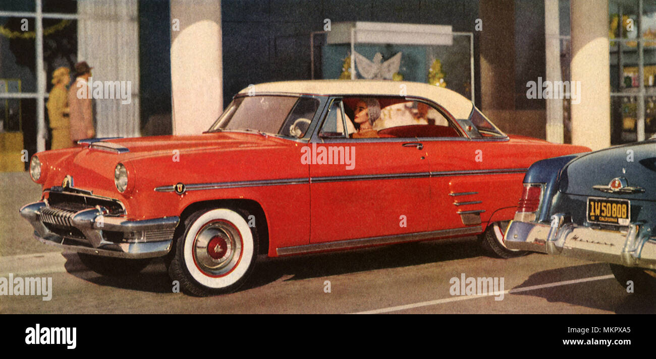 1954 Ford Mercury Stock Photos Images Alamy Crown Victoria Image