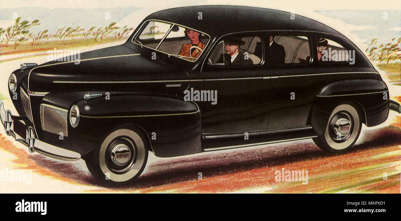 1949 Mercury Stock Photos Images Alamy 1941 Flathead Engine 8 Image