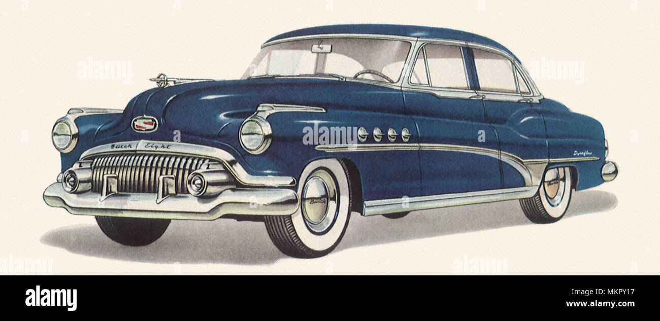 Illustration Buick Stock Photos Images 1951 Super Convertible Eight Image