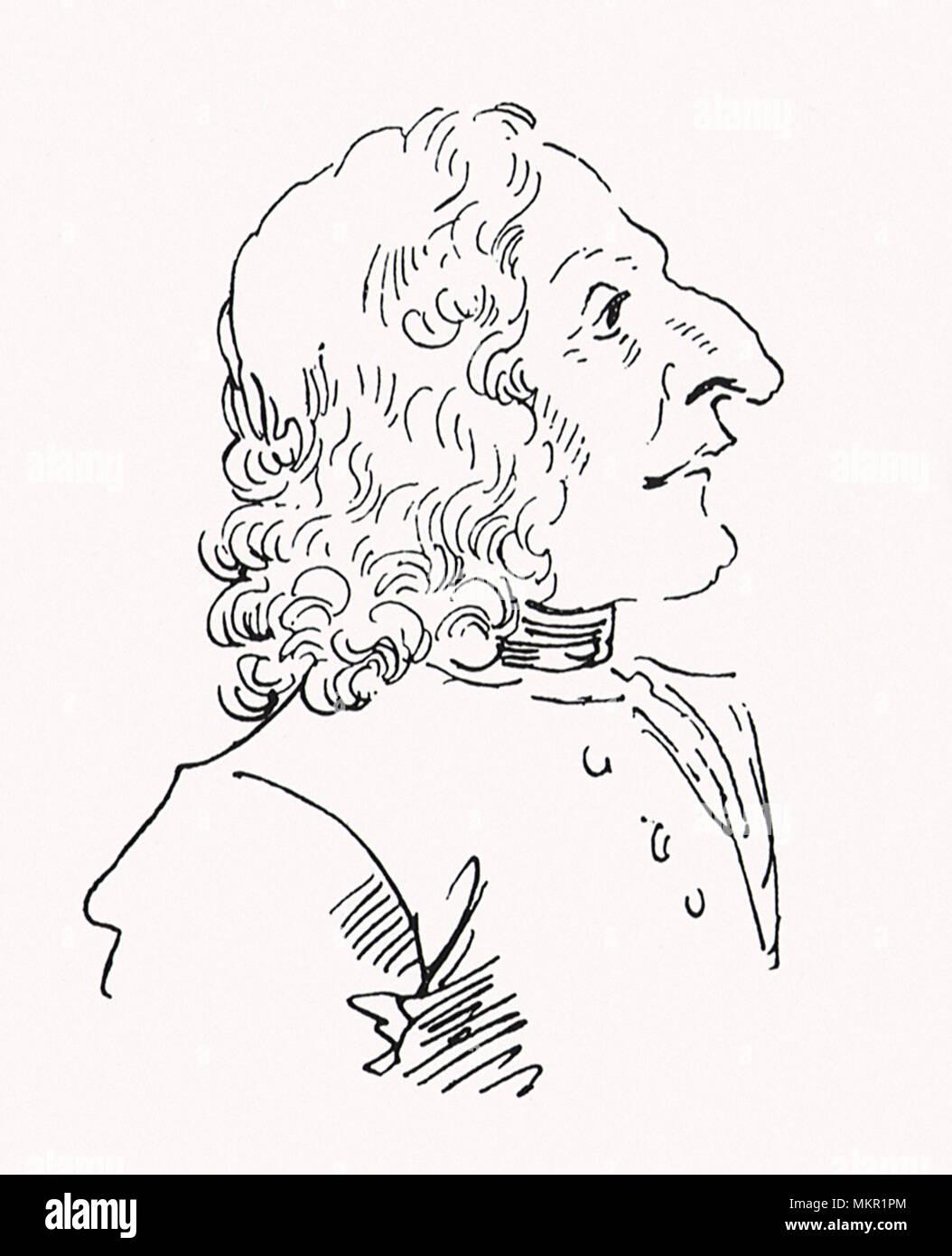 Antonio Vivaldi - Stock Image