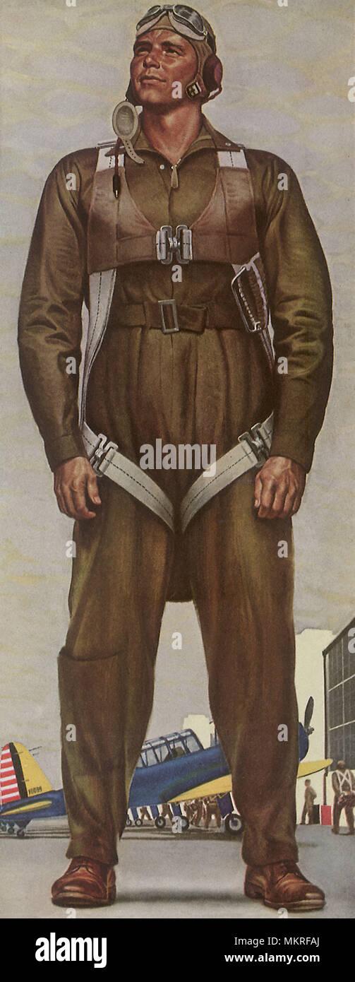 Noble Airman - Stock Image