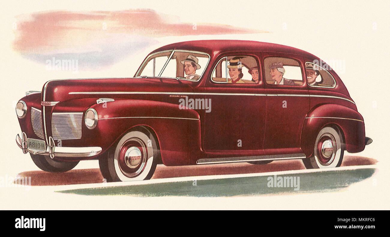 1949 Mercury Stock Photos Images Alamy 1941 Custom Cars 8 Sedan Image