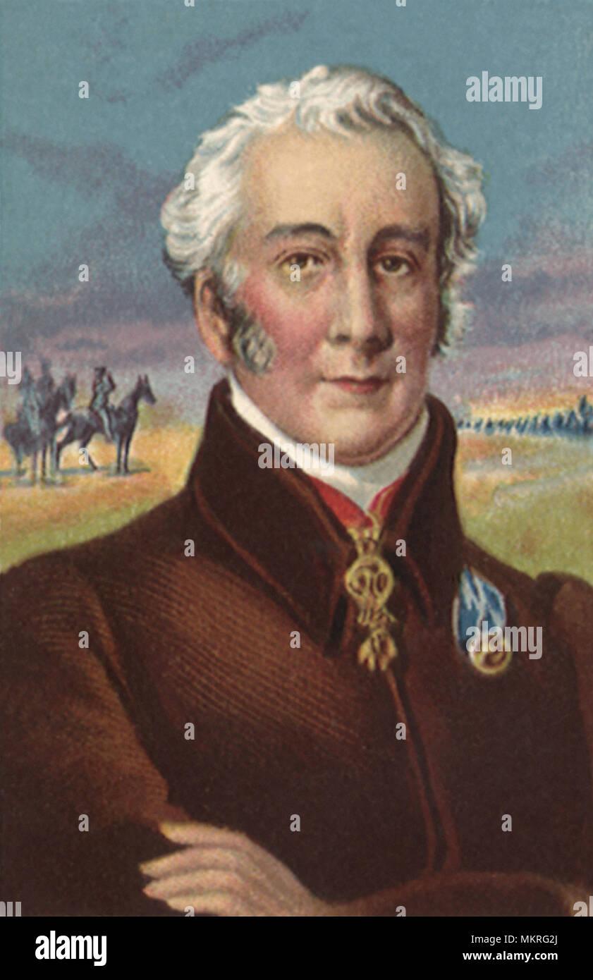 Duke of Wellington Victor of Waterloo - Stock Image