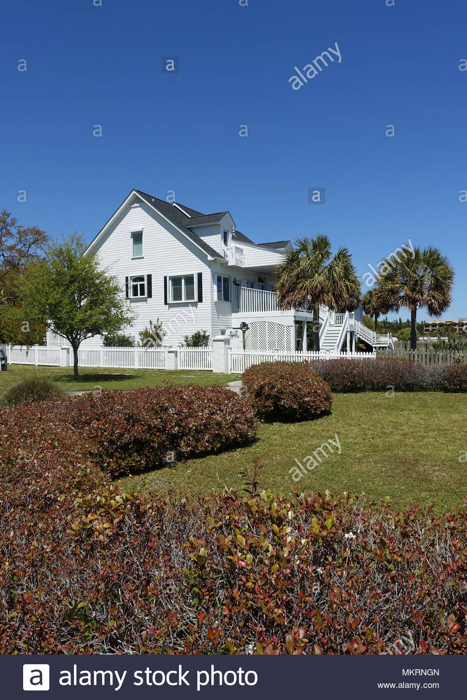 Home in Southport, North Carolina Stock Photo