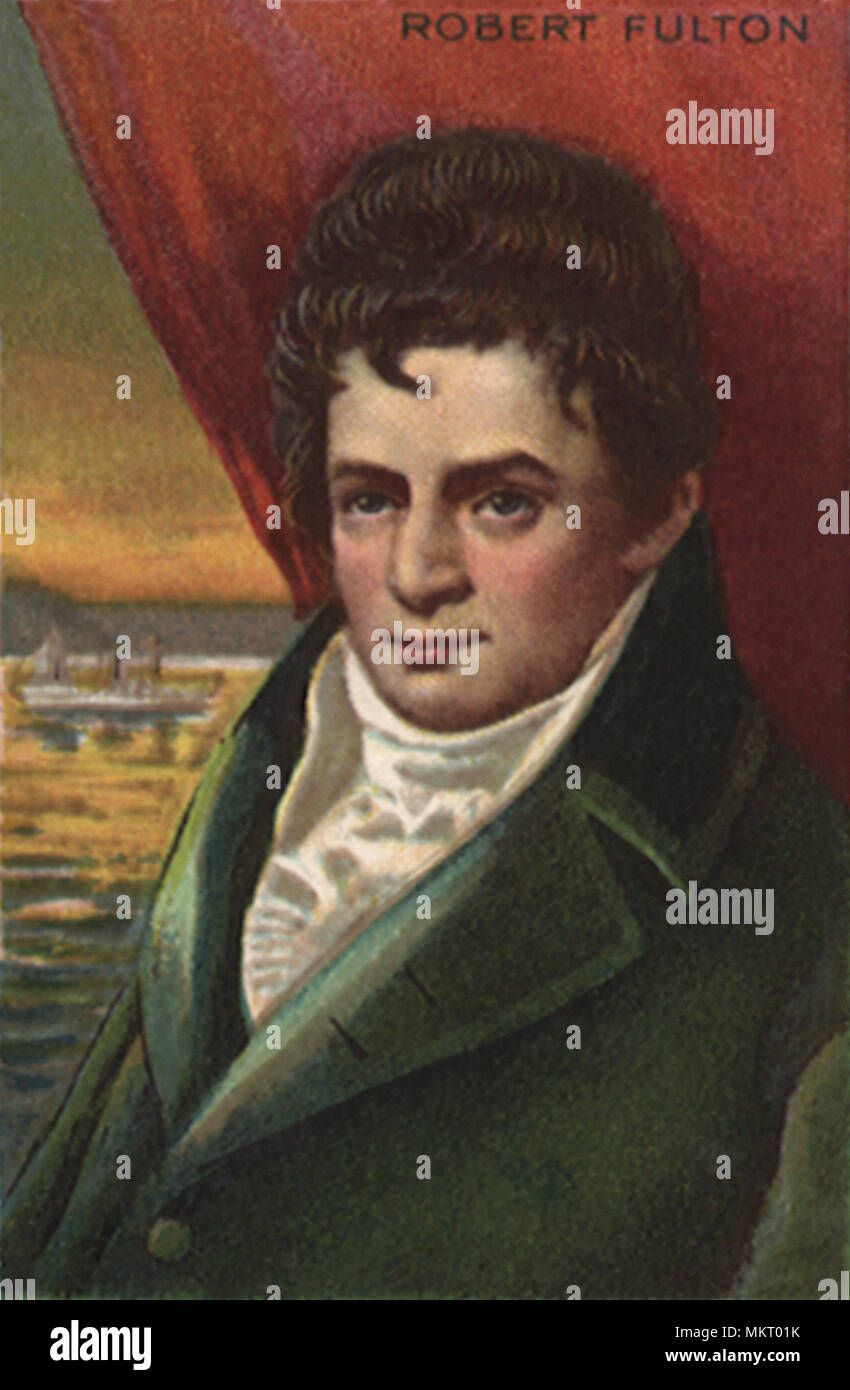 the significant contributions of robert fulton Robert fulton and the invention of the steamboat from great inventors and their inventions by frank p bachman.