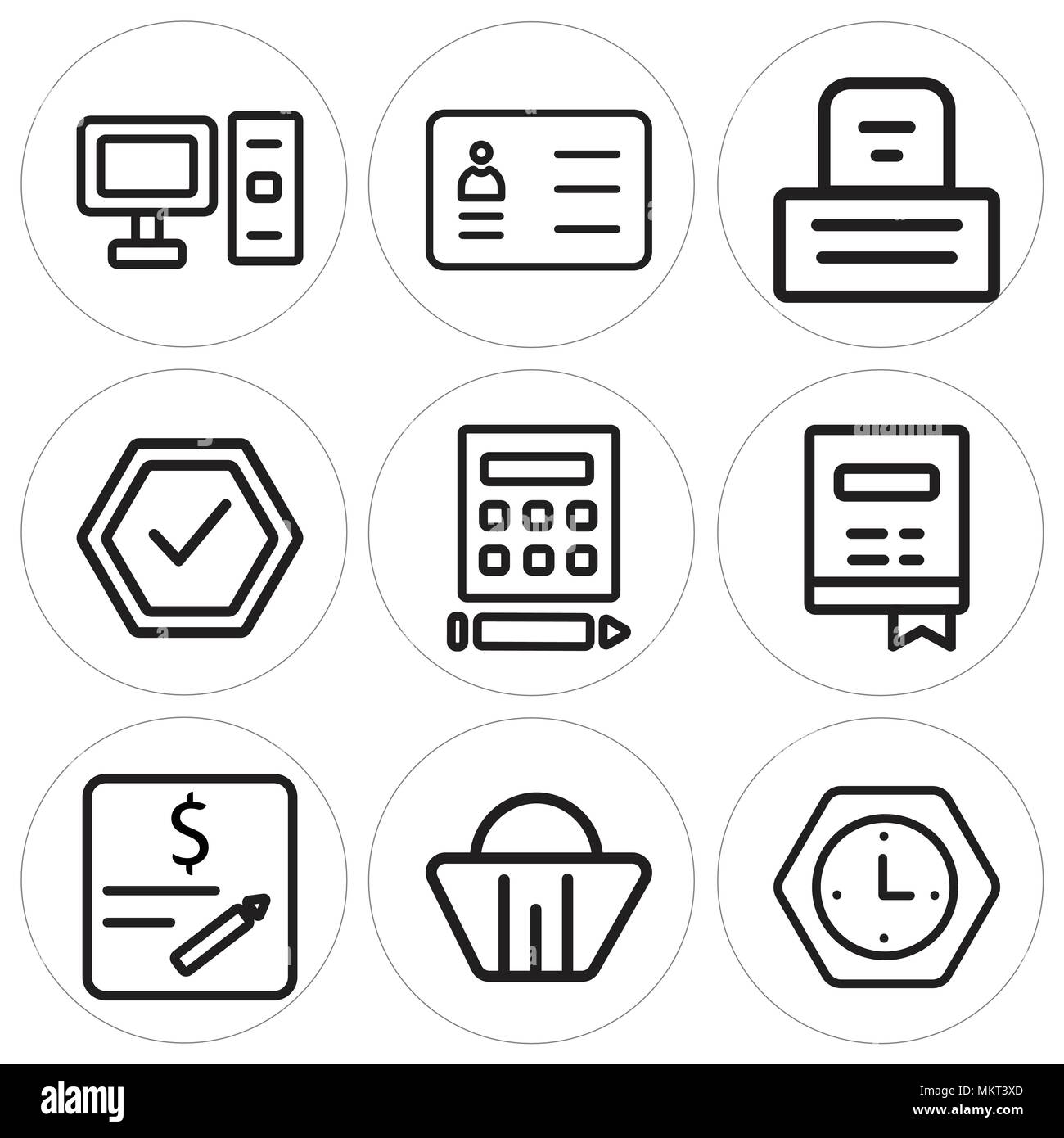 Resume Black White Icon Cv Black and White Stock Photos & Images - Alamy