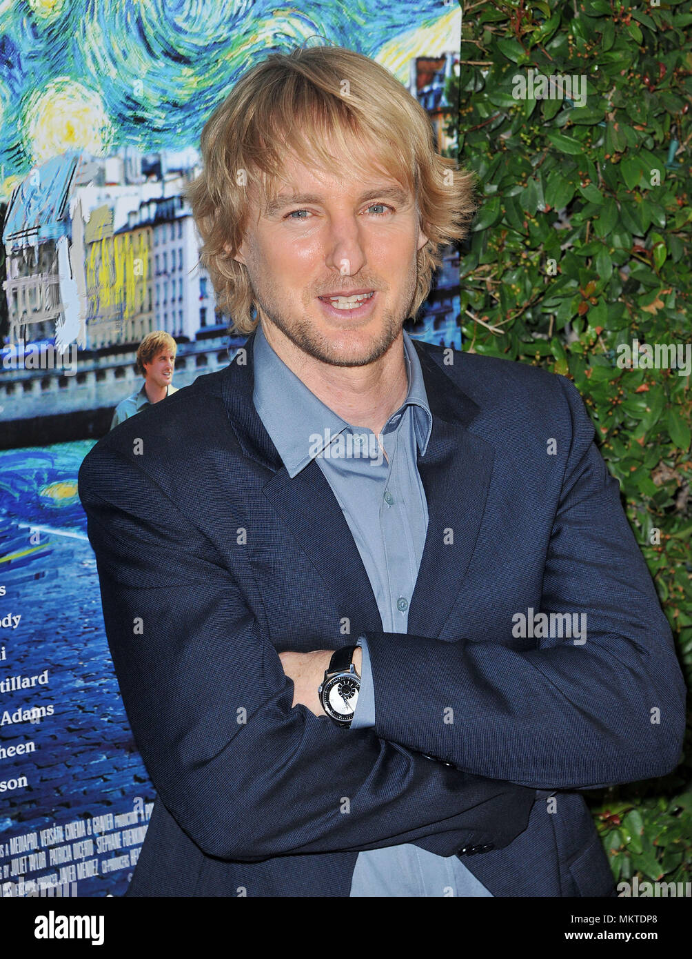Owen Wilson at Midnight in Paris Premiere at the Academy of