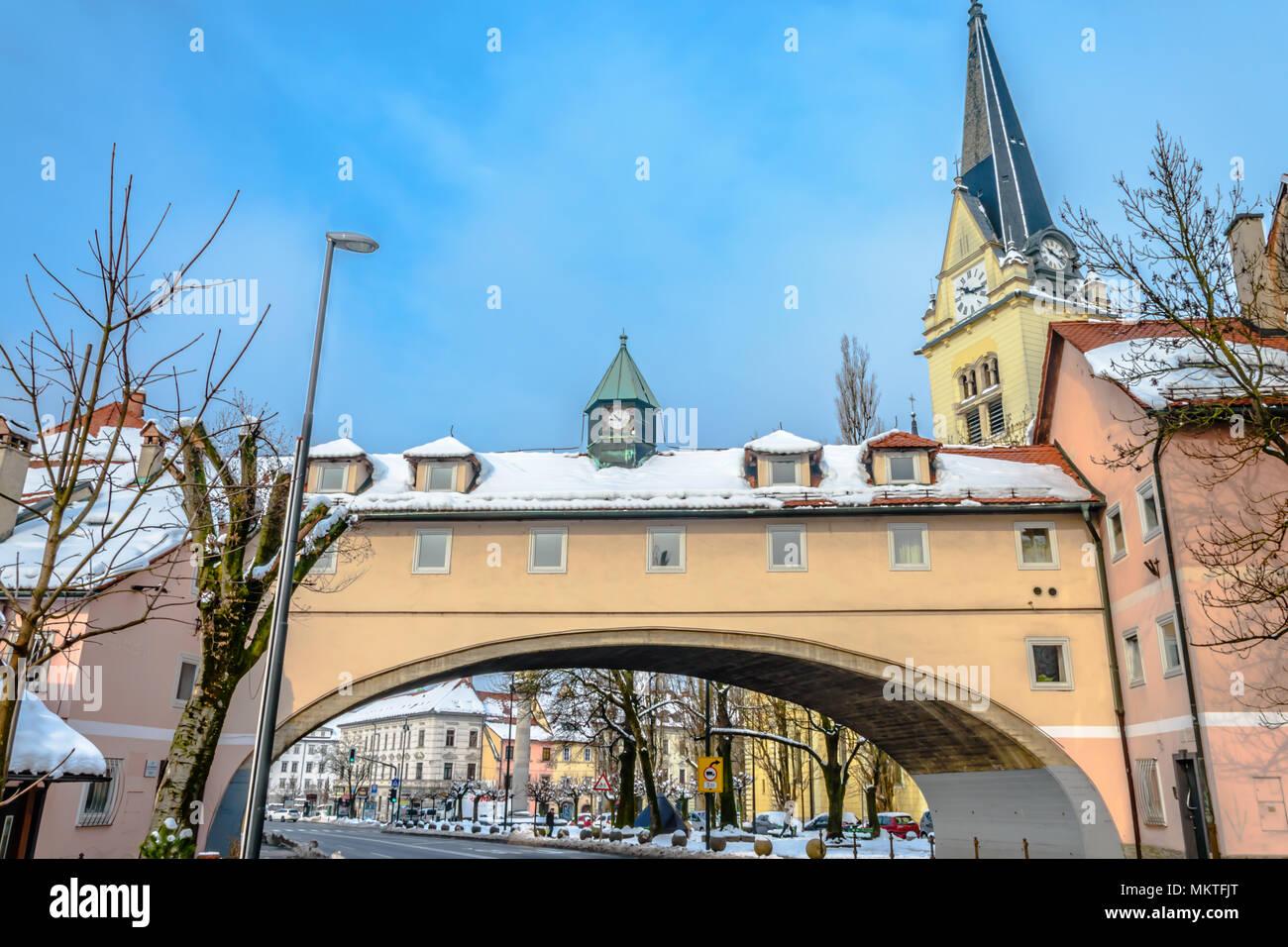 Karlovška cesta - Stock Image