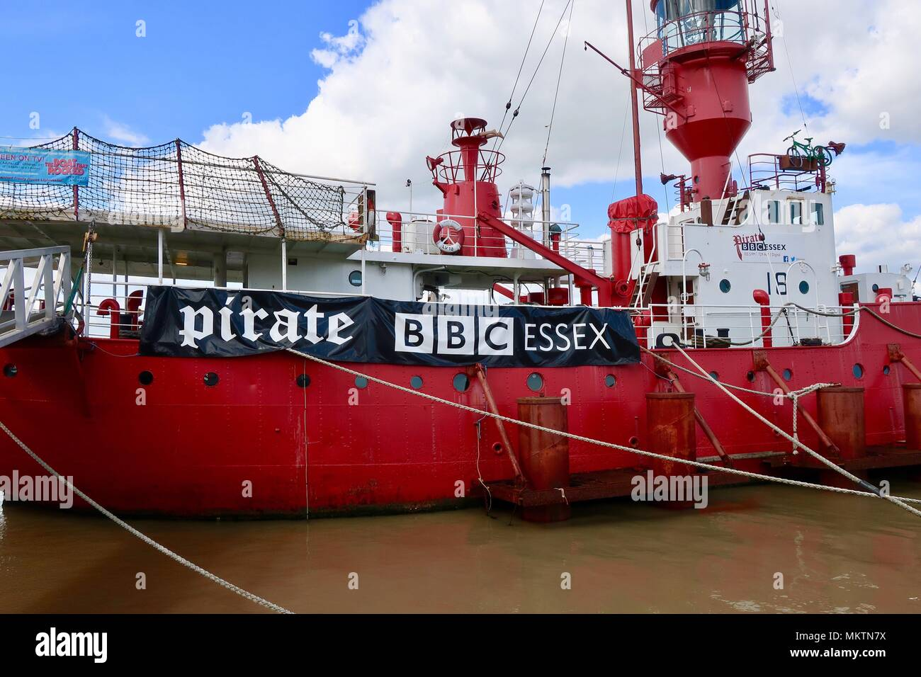 LV18 the boat that rocked  Radio Caroline pirate radio ship