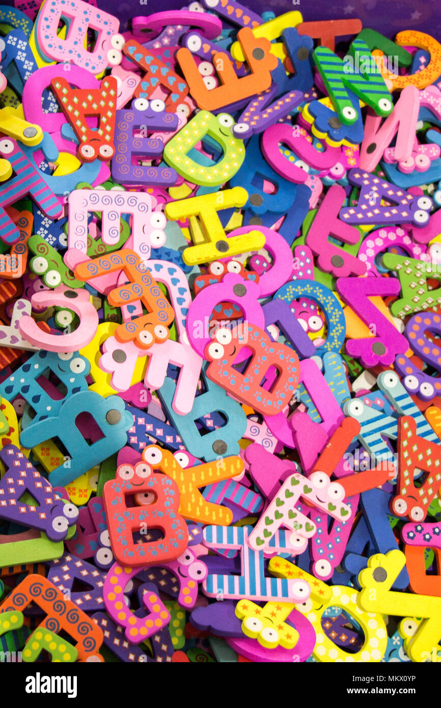 Toy Letters Stock Photos & Toy Letters Stock Images - Page 18 - Alamy