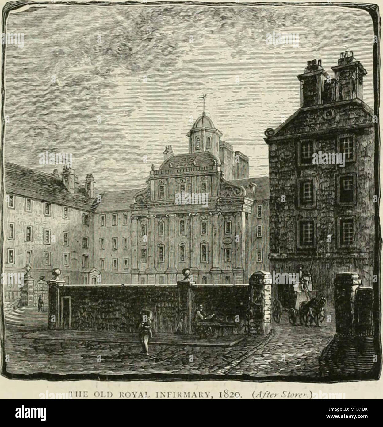 """""""Cassell's Old and new Edinburgh: its history, its people, and its places"""" (1881) Stock Photo"""