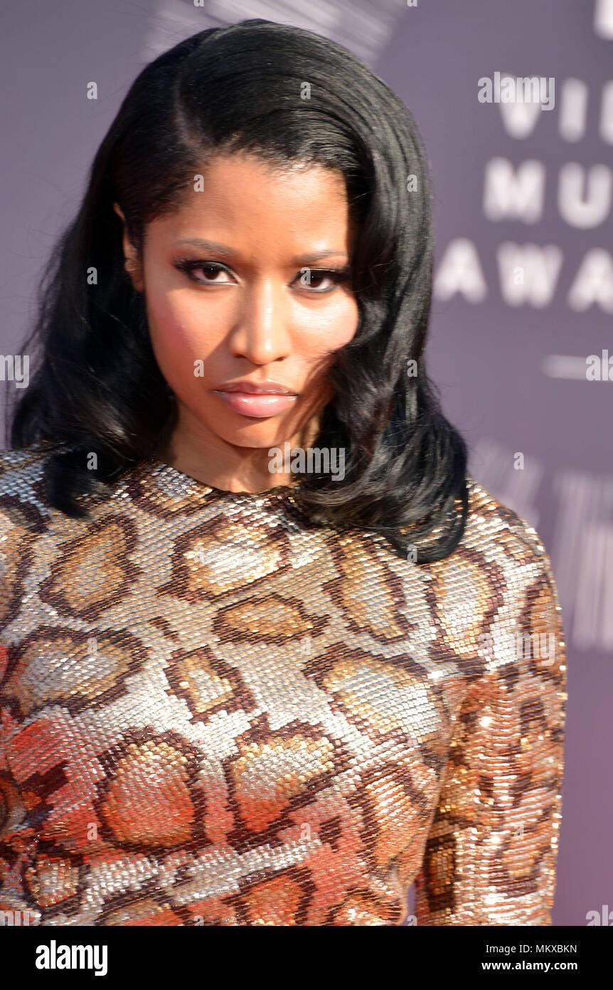 Nicki Minaj at the MTV Video Music Awards at the Great