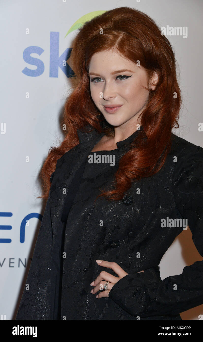 Renee Olstead  at the 5th Ann. Thirst Gala at the Beverly Hilton in Los Angeles. Renee Olstead 027 Red Carpet Event, Vertical, USA, Film Industry, Celebrities,  Photography, Bestof, Arts Culture and Entertainment, Topix Celebrities fashion /  Vertical, Best of, Event in Hollywood Life - California,  Red Carpet and backstage, USA, Film Industry, Celebrities,  movie celebrities, TV celebrities, Music celebrities, Photography, Bestof, Arts Culture and Entertainment,  Topix, headshot, vertical, one person,, from the year , 2014, inquiry tsuni@Gamma-USA.com - Stock Image