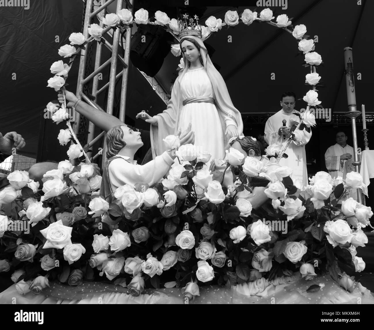 Procissão de Nossa Senhora do Trabalho - Stock Image