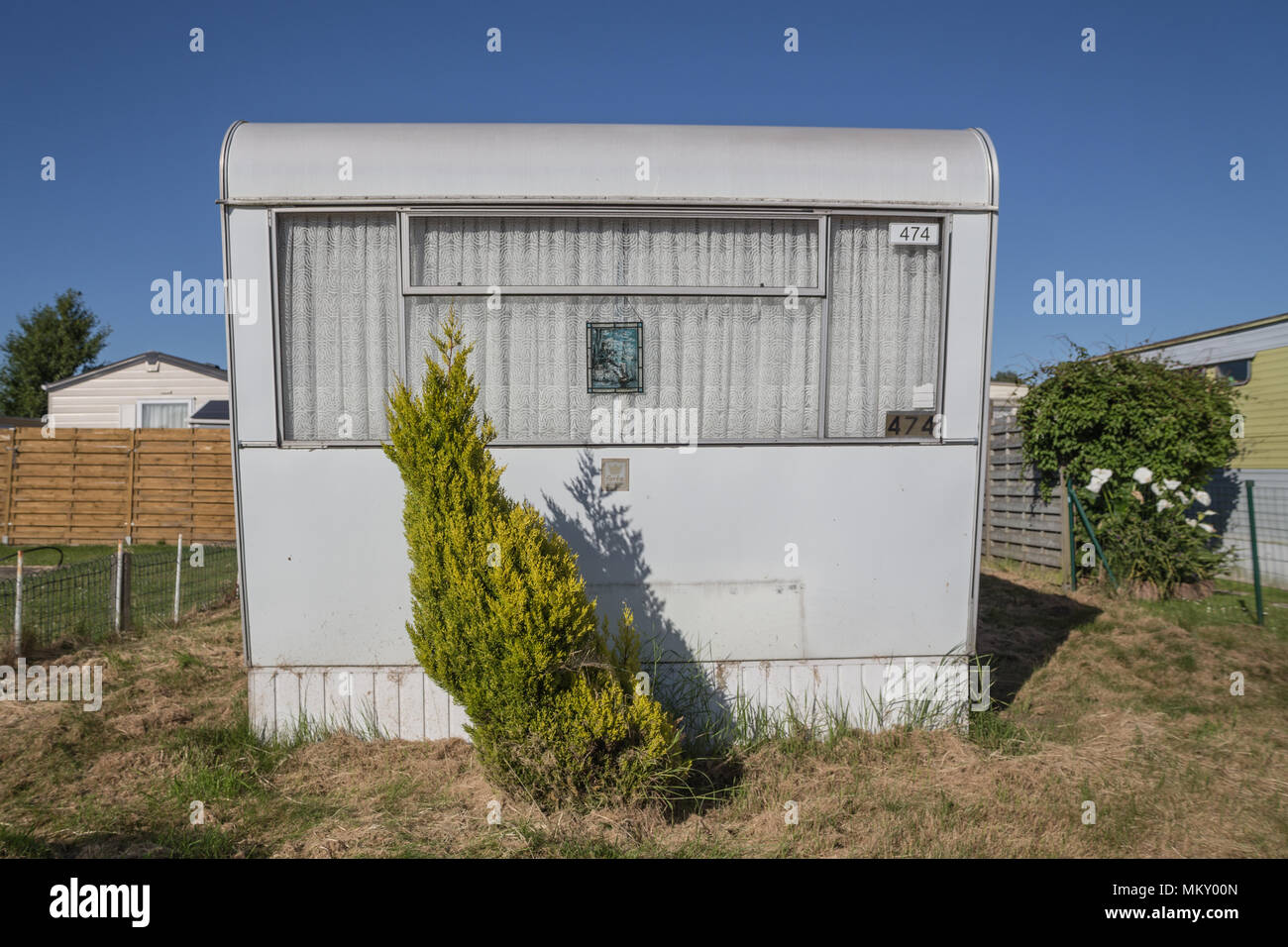 Mobile home - Stock Image