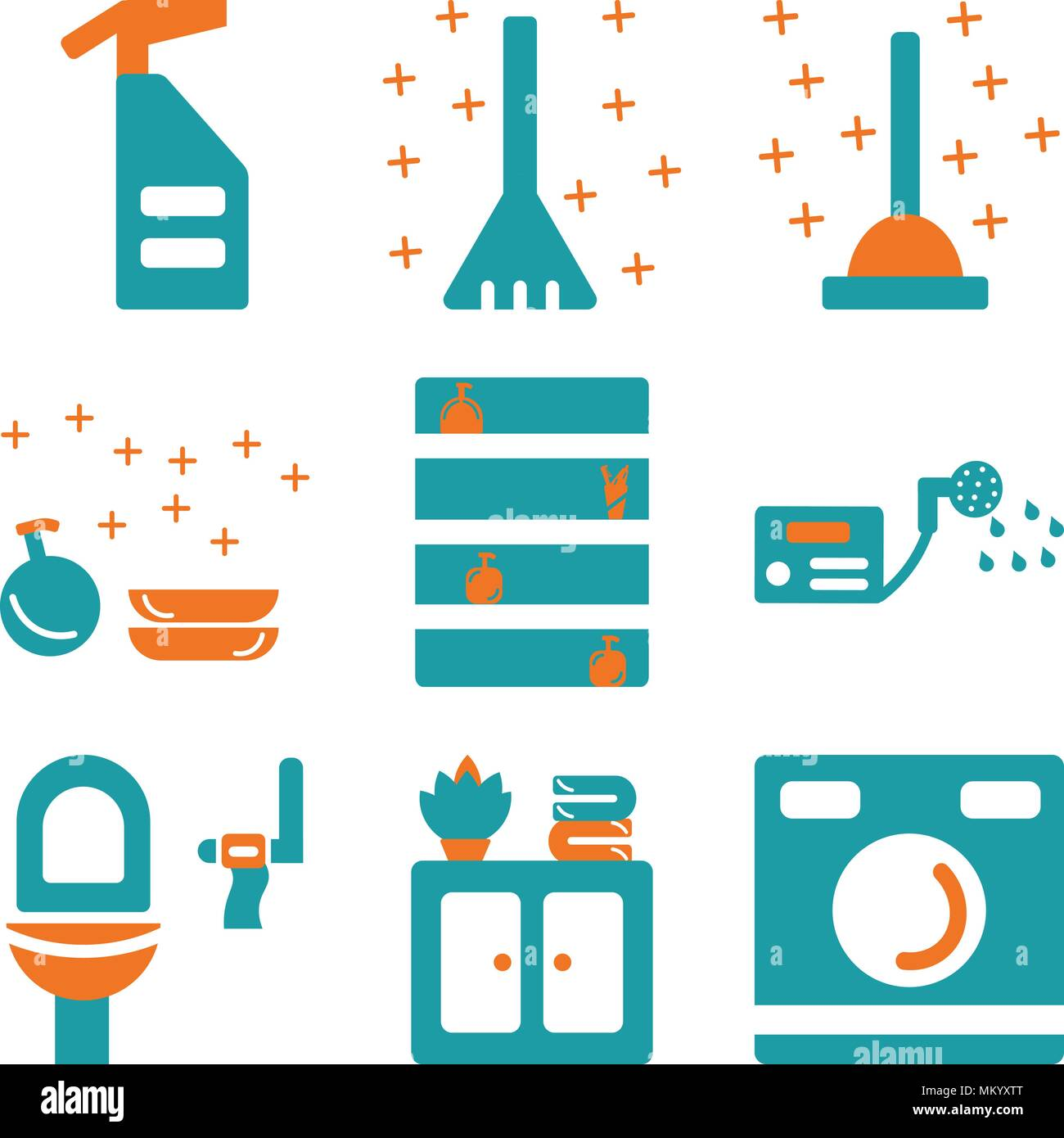 Mobile Boiler Room Stock Vector Images - Alamy