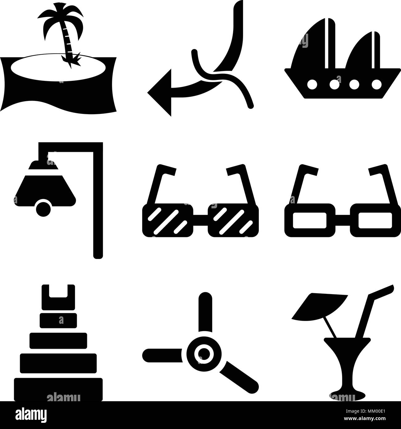 a523aceb2fc Set Of 9 simple editable icons such as Limonade with Drop