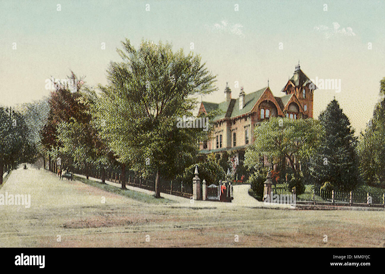 Dolph Residence. Portland. 1910 - Stock Image