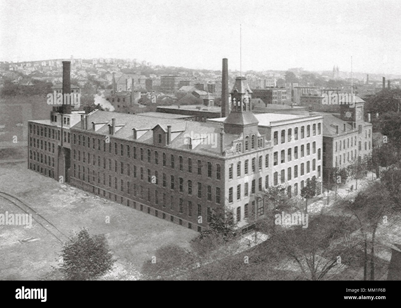Hobbs Manufacturing. Worcester.  1910 - Stock Image