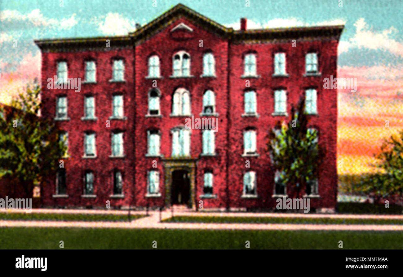 Lafayette College. Easton. 1925 - Stock Image