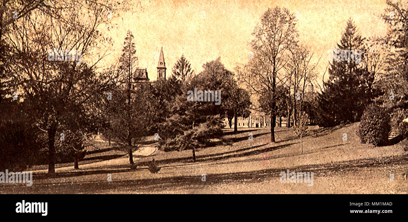 Lafayette College Campus. Easton. 1907 - Stock Image