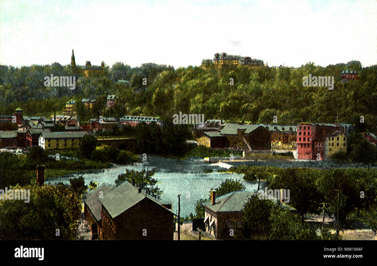 Lafayette College. Easton. 1907 - Stock Image