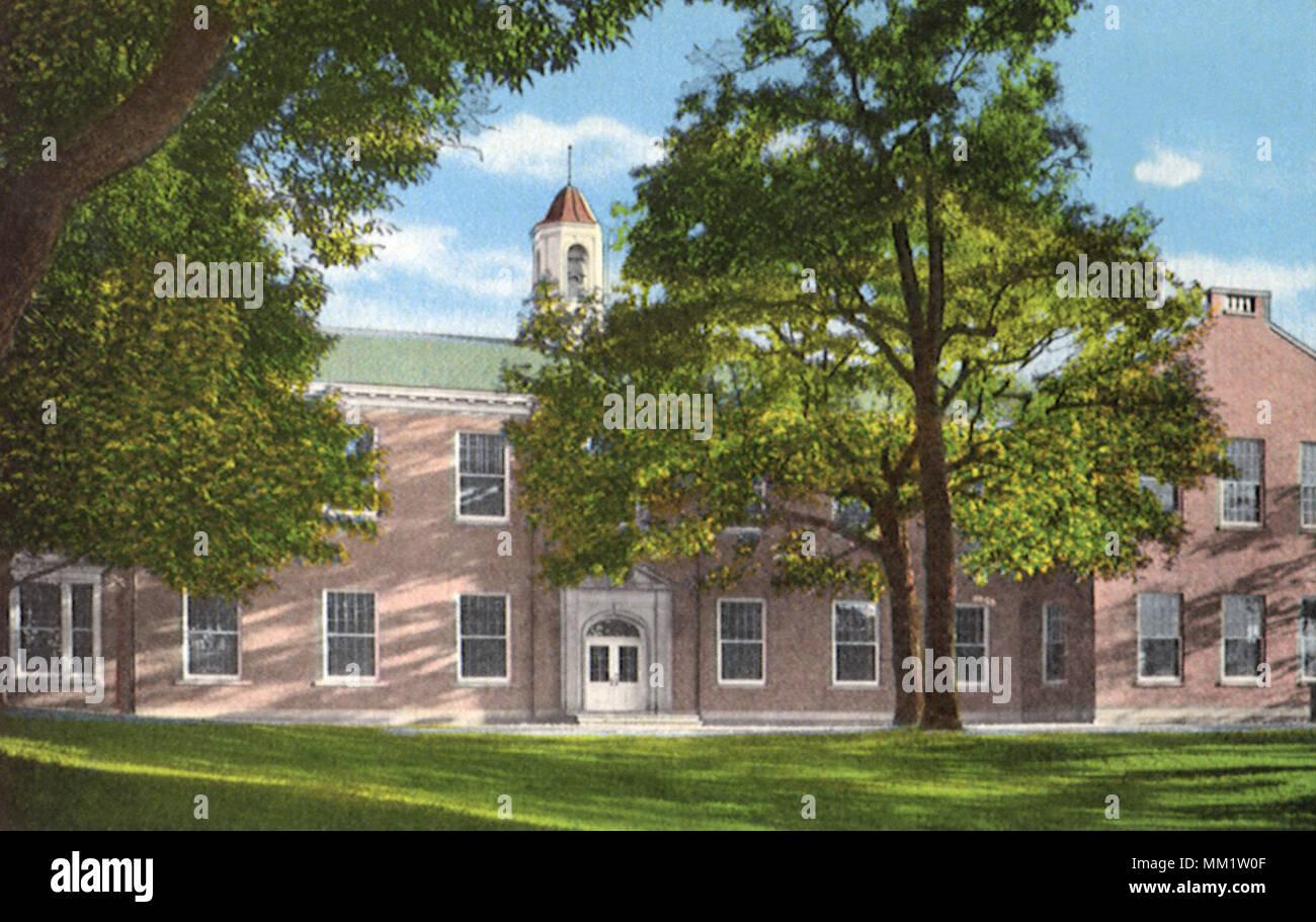 Rockford College. Rockford. 1940 - Stock Image