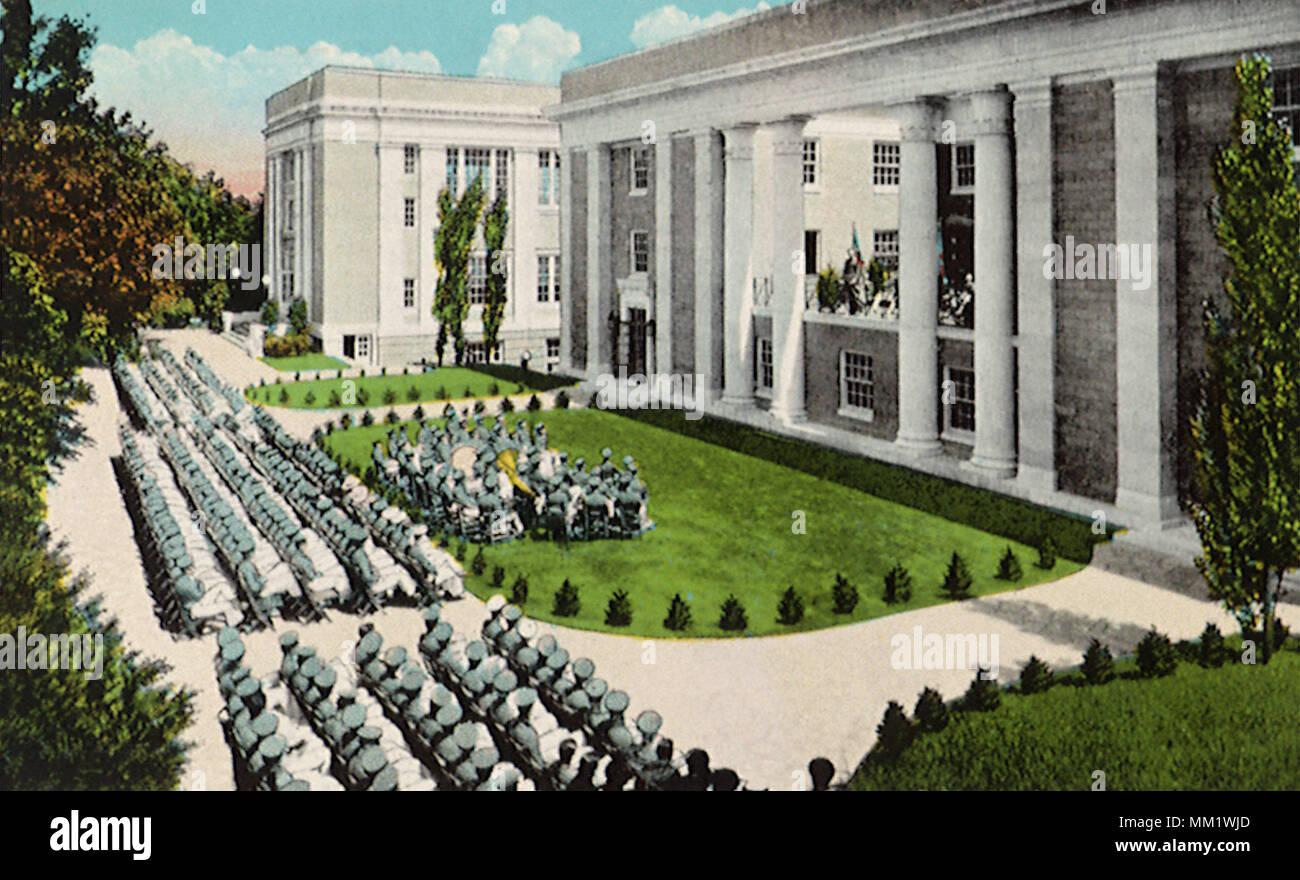 Military Academy. Staunton. 1935 - Stock Image
