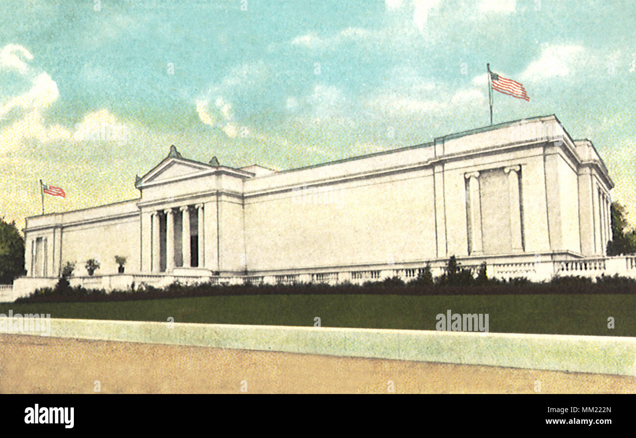 Art Museum at Wade Park. Cleveland. 1910 Stock Photo