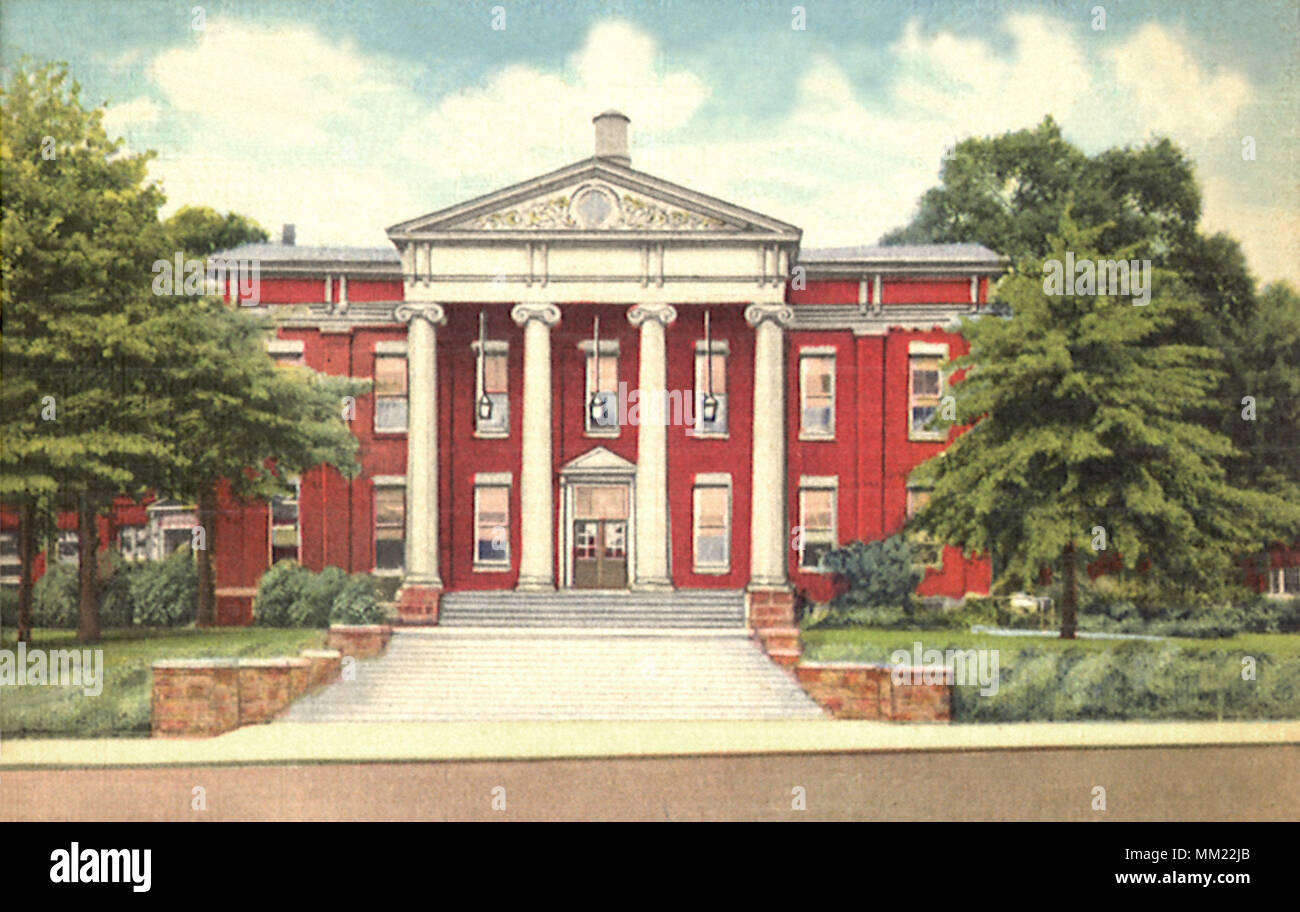 Youngstown College. Youngstown. 1940 - Stock Image