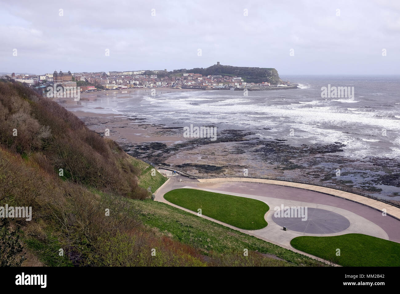 Scarborough yorkshire uk april 30 2018 scarborough - Swimming pools in south yorkshire ...