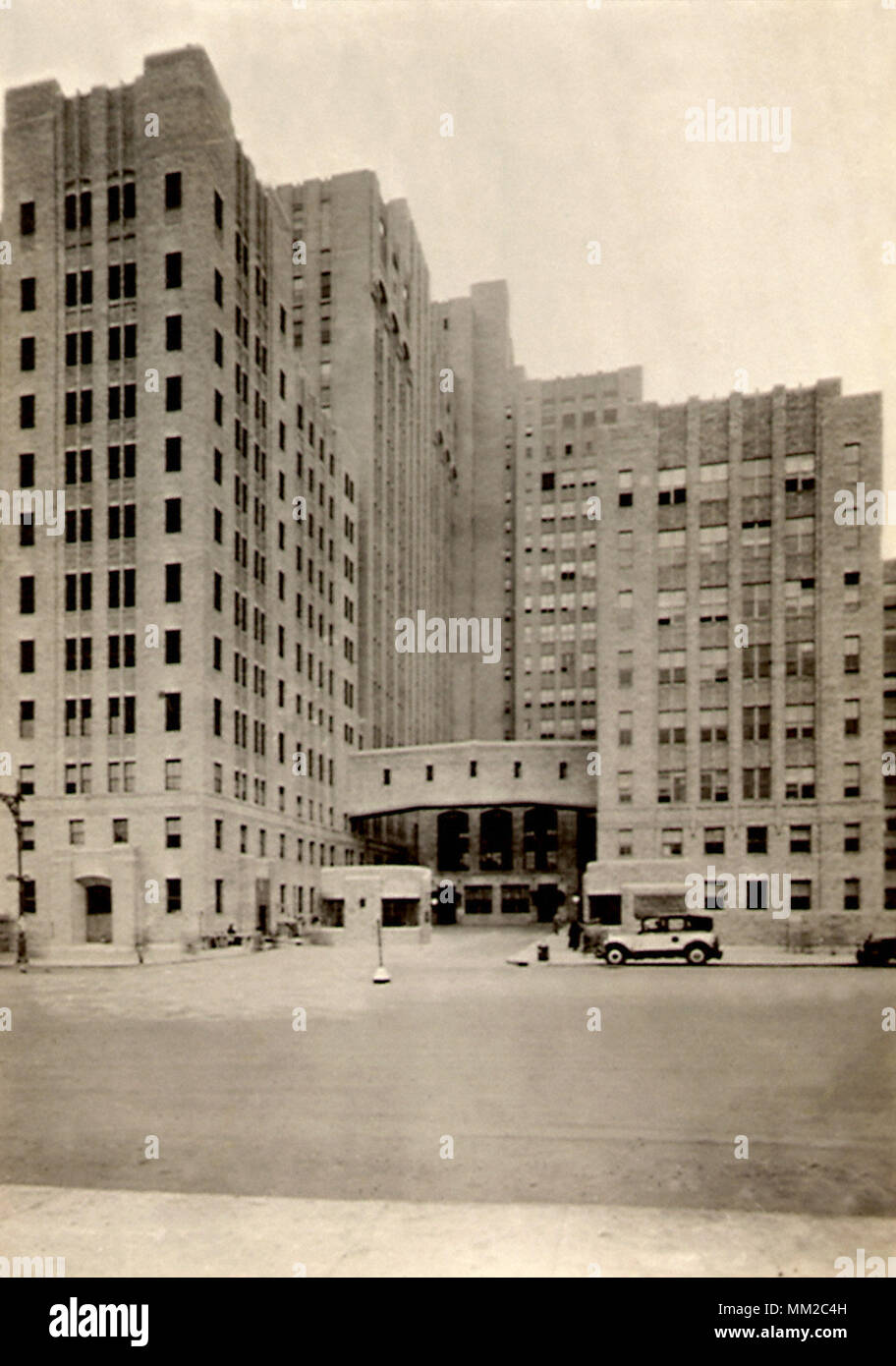 The Medical Center. New York City. 1935 Stock Photo
