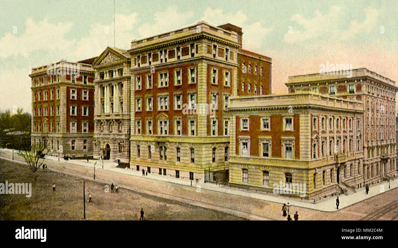 Mount Sinai Hospital New York City 1909 Stock Photo 184450244 Alamy