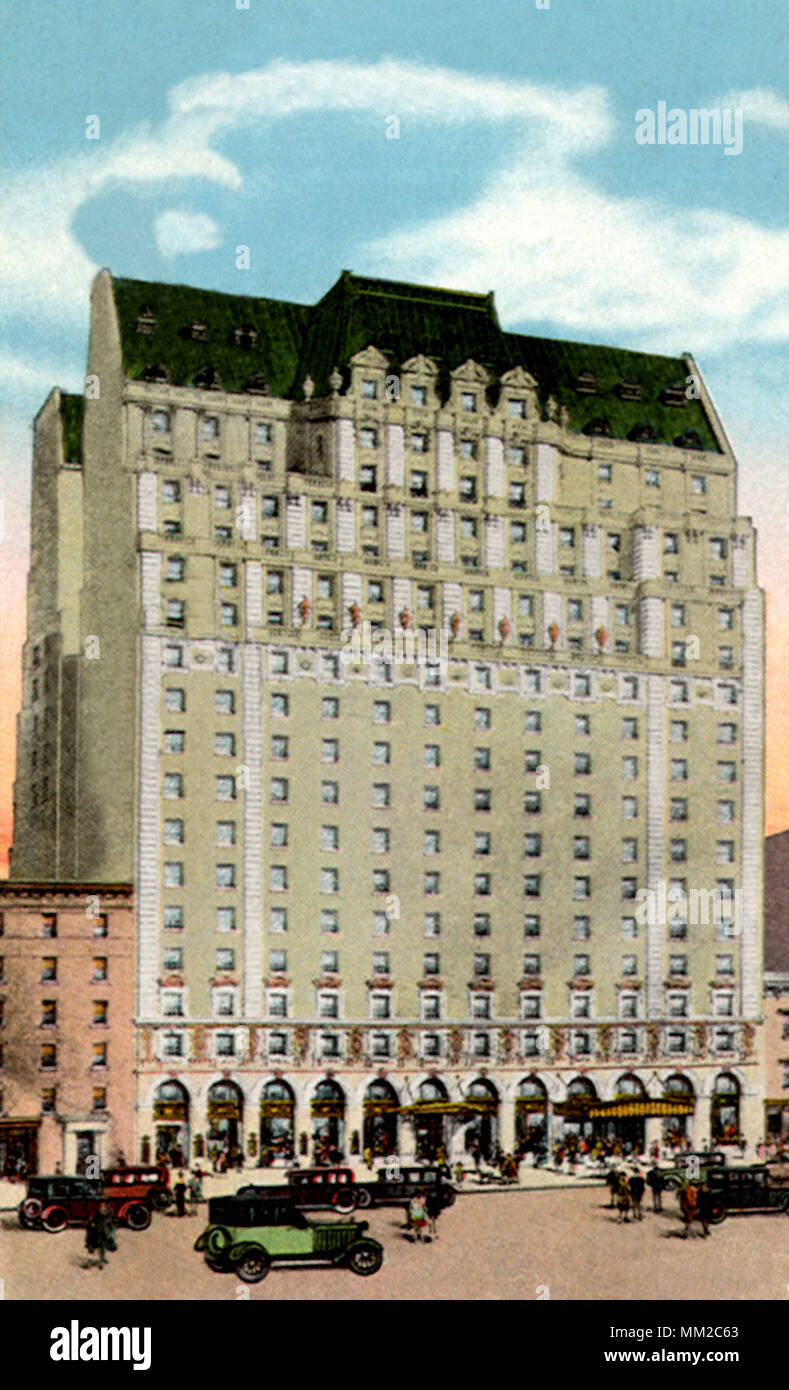 Paramount Hotel New York City 1929 Stock Photo Alamy