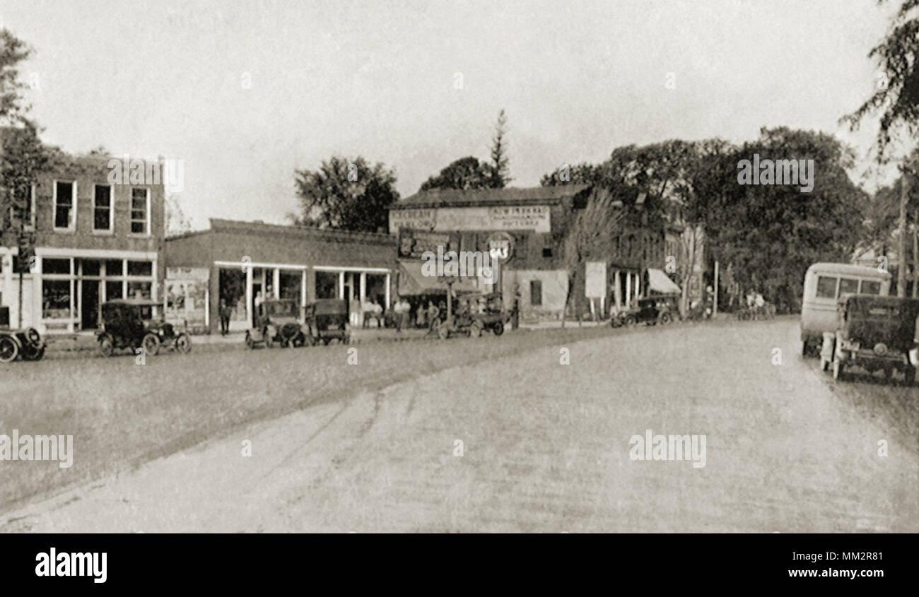 Merchants Row. Colchester. 1910 - Stock Image