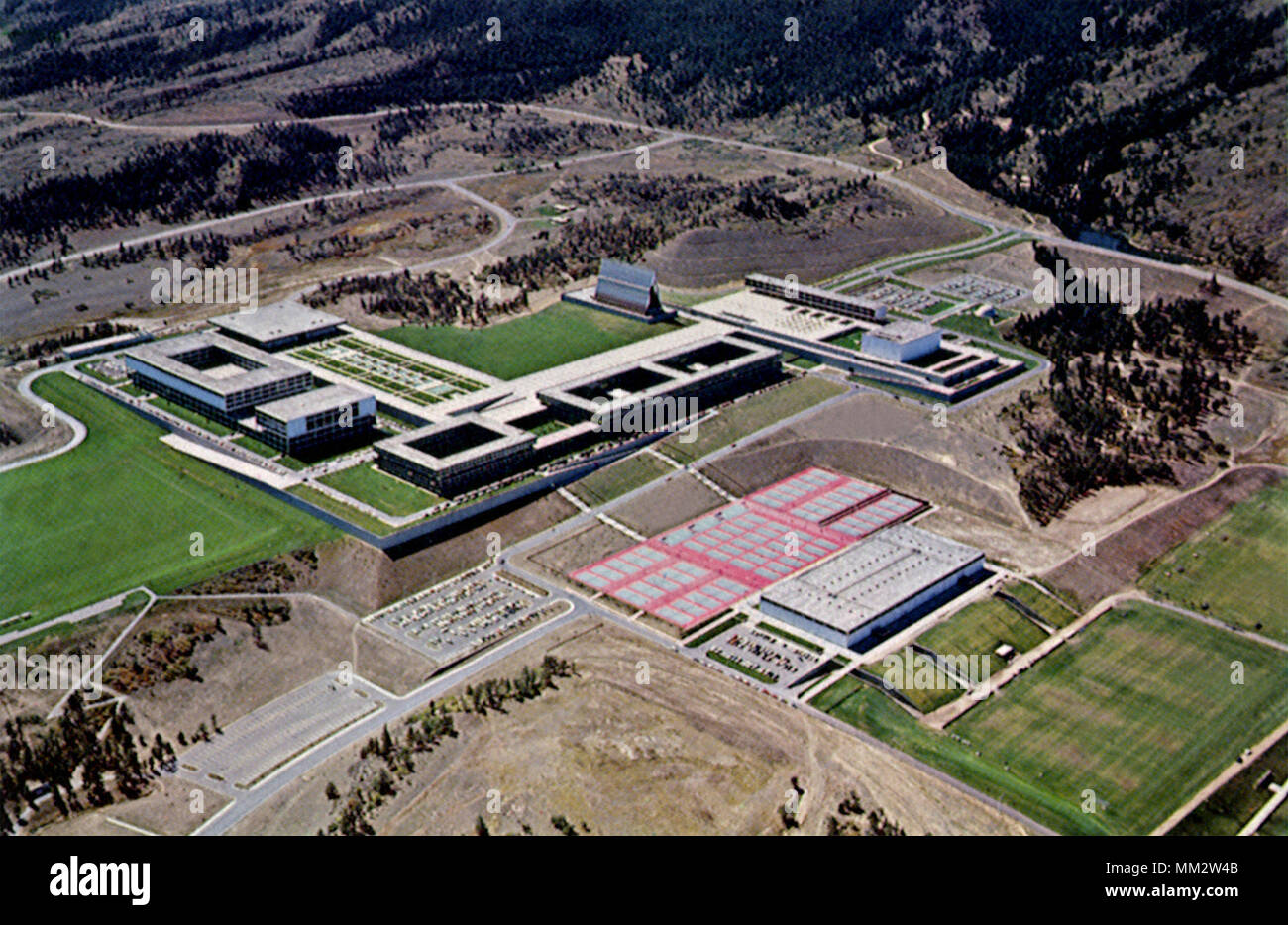 U. S. Air Force Academy. 1965 Stock Photo