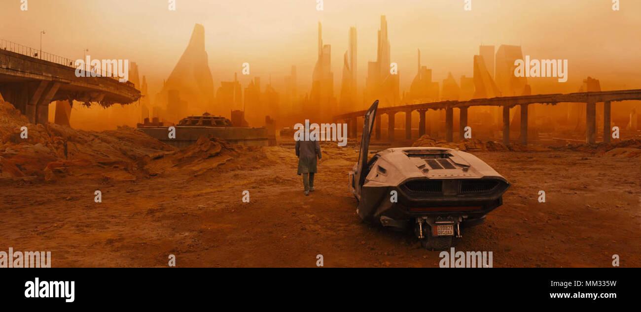 BLADE RUNNER 2049 (2017)  DENIS VILENEUVE (DIR)  WARNER BROS/MOVIESTORE COLLECTION LTD - Stock Image
