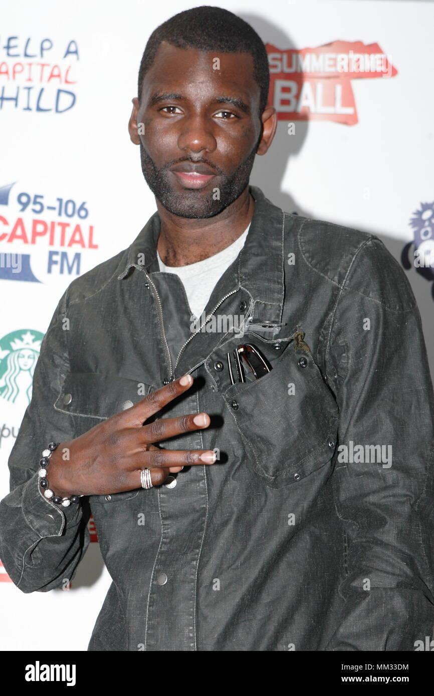 UK - Entertainment Wretch 32 at the 95-106 CAPITAL FM SUMMERTIME BALL, Wembley Stadium. 12 June 2011 - Stock Image