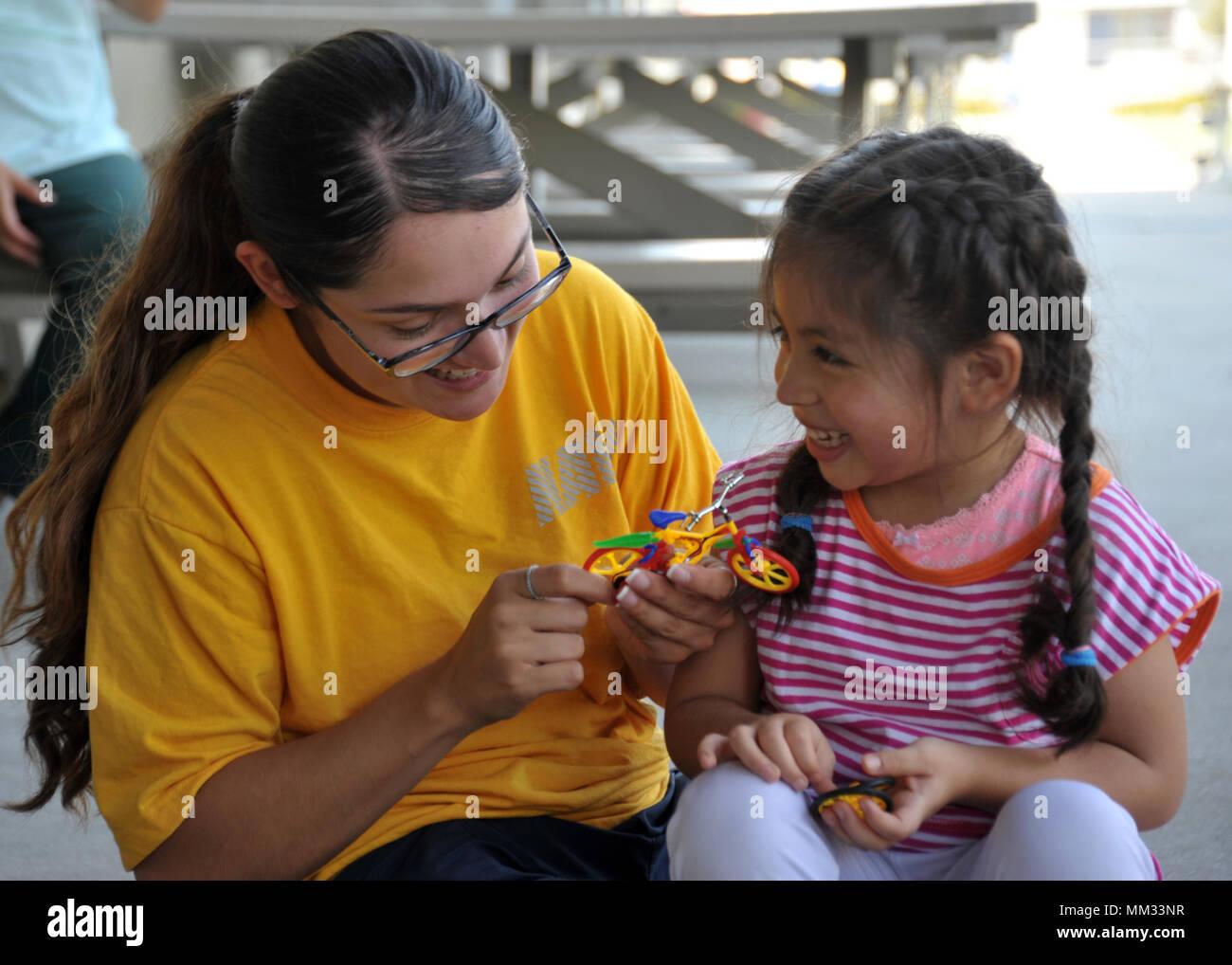 San Pedro Calif Sept 1 2017 Ensign Giovanna Rodriguez