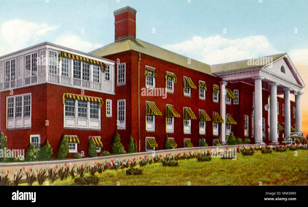 Community Hospital. Tupelo. 1920 - Stock Image