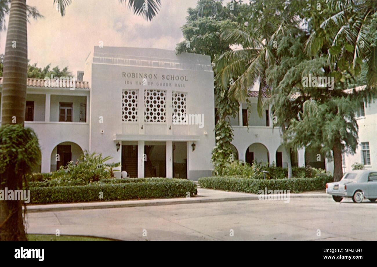 Robinson School. Santurce. 1960 - Stock Image