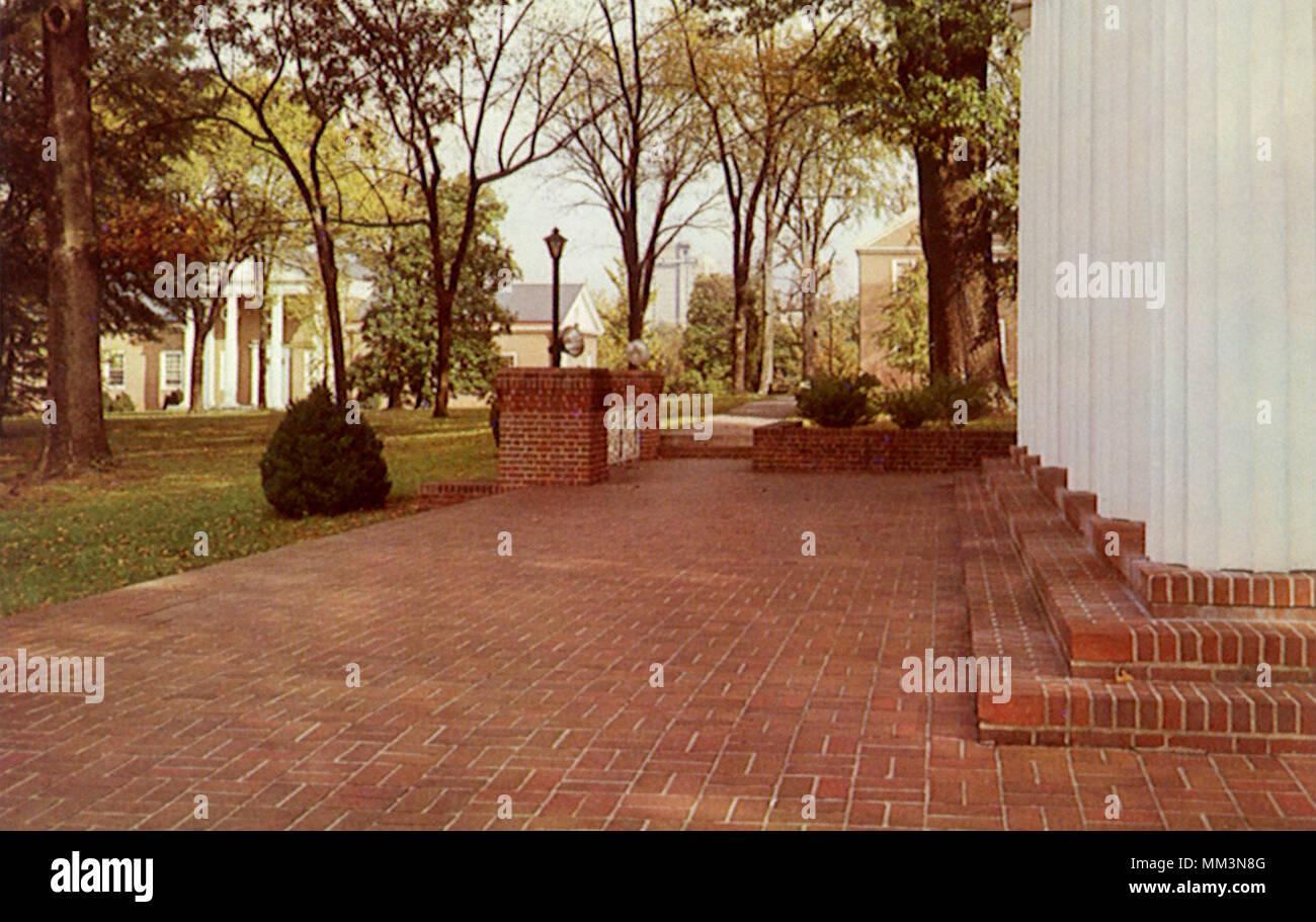 Greensboro College. Greensboro. 1960 Stock Photo