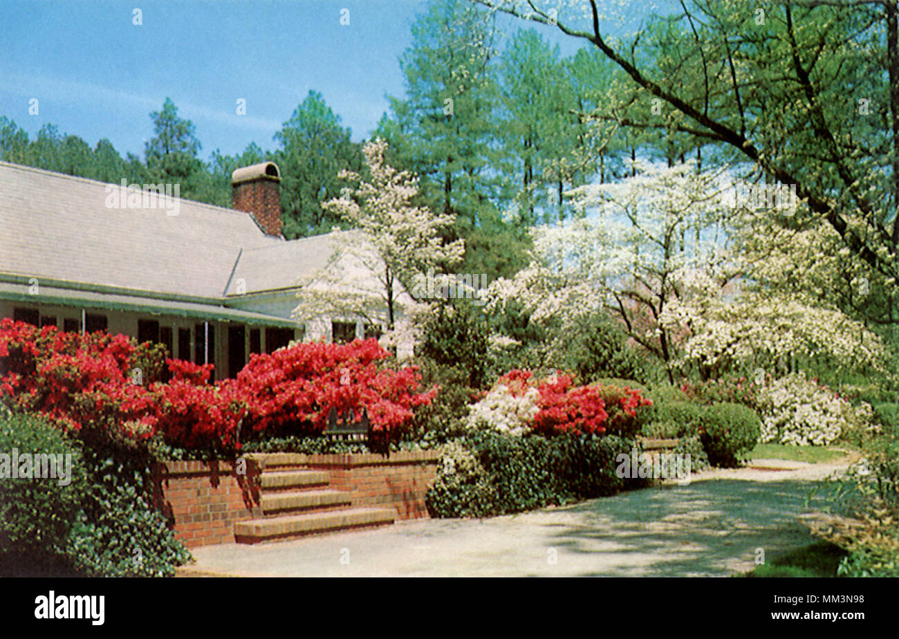 Mid South Resort. Southern Pines. 1960 Stock Photo