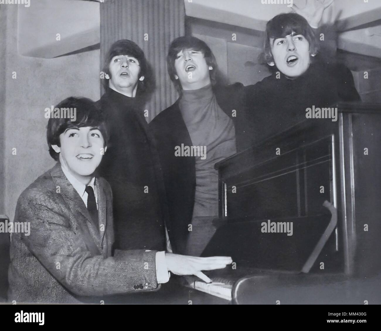 The Beatles at the Grand Theatre Leeds - Stock Image