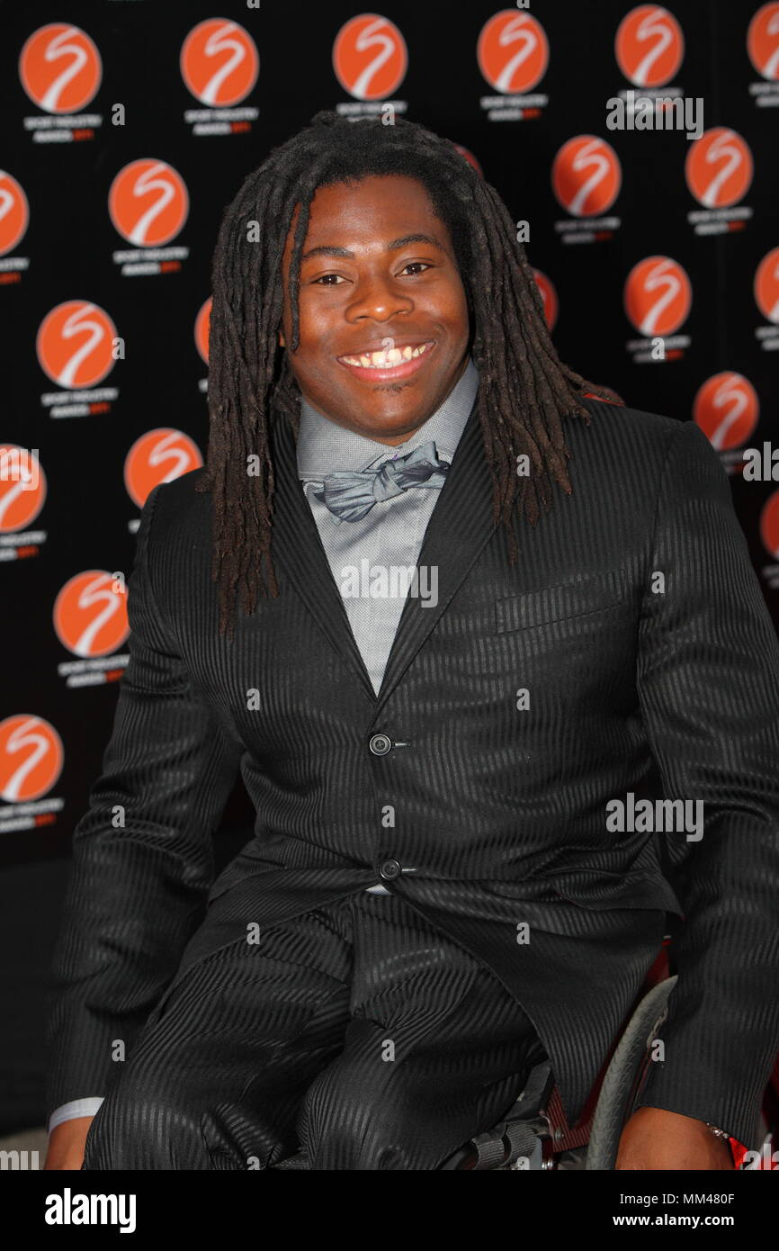 UK - Ade Adepitan at the Sport Industry Awards Battersea Evolution London. 11th May 2011 - Stock Image