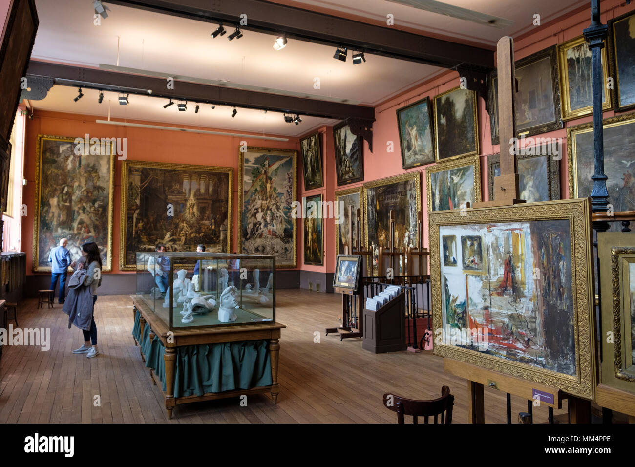Musée National Gustave Moreau, Home and Studio of symbolist Gustave Moreau, Paris, France - Stock Image