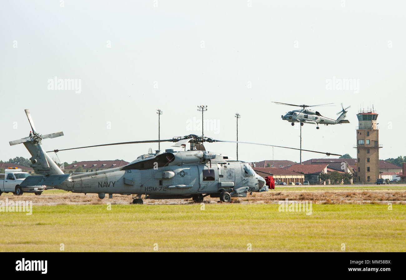Maxwell AFB, Ala  - MH-60 Helicopters from Naval Air Station