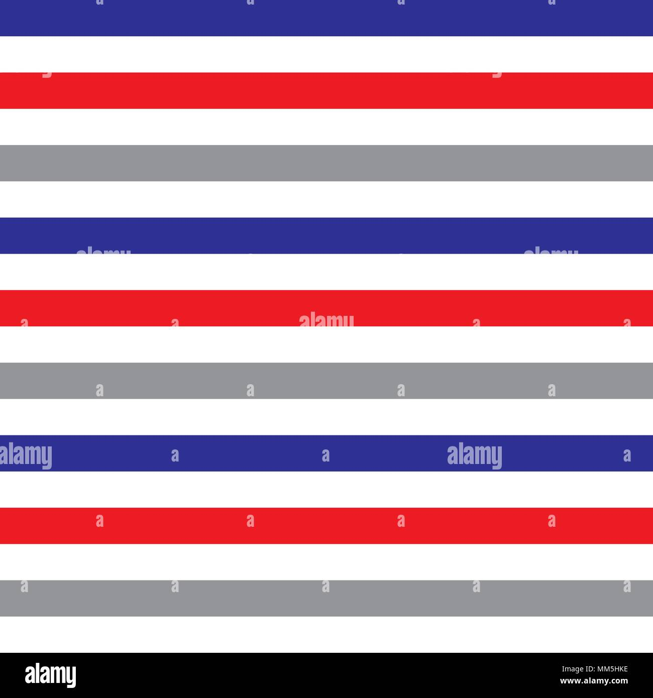 Red White Blue Striped Flag Stock Vector Images - Alamy
