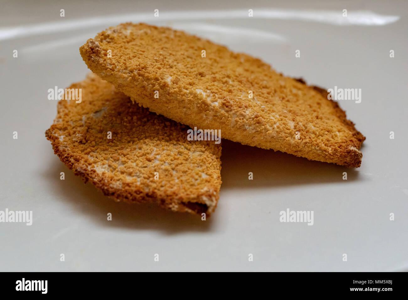 Findus crispy pancakes - Stock Image